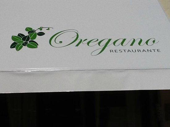 Oregano Restaurante: our logo