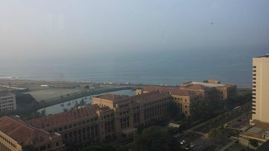 Hilton Colombo: the view from my room