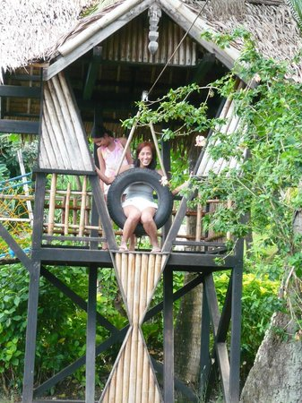 Coco Beach Island Resort : Wheeeee!!!!