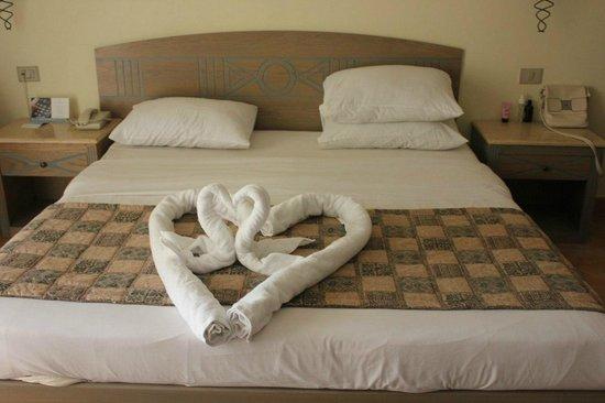 Sol Taba Red Sea : Декорции из полотенец - выше всяких похвал