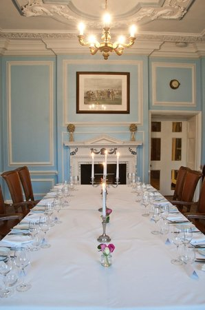 Buckland Tout-Saints Hotel: Private dining
