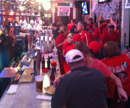 Bourbon Heat: Football fans takeover the Carriageway Bar