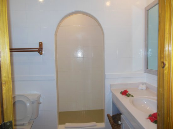 Indian Ocean Lodge: salle de bain