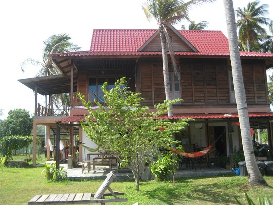 Soluna Guest House: The main building whith reception and the common area