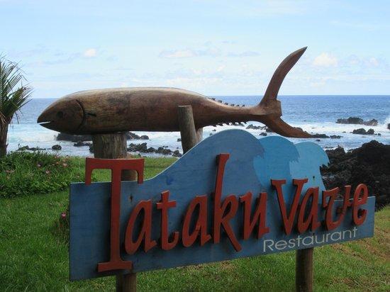 Tataku Vave: entrada al hotel