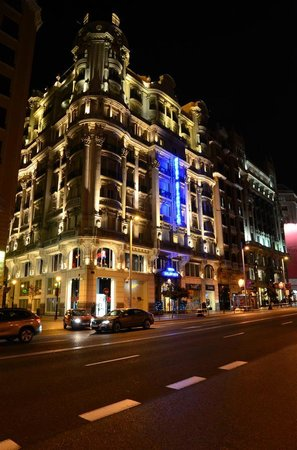 Hotel Atlantico Madrid, Spain