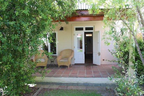 Spier Hotel : Room verandah
