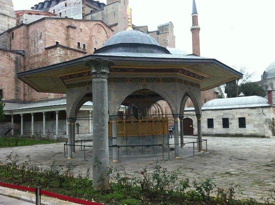 mosque washing area - Picture of Hagia Sophia Museum ...