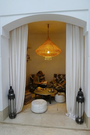 Riad Snan13: Lounge (ground floor)