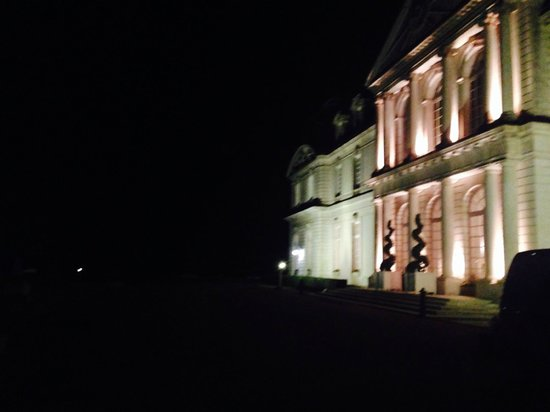Chateau d'Artigny by night