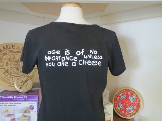 Gibbston Valley Cheese: one of the gimmicky t shirt on sale
