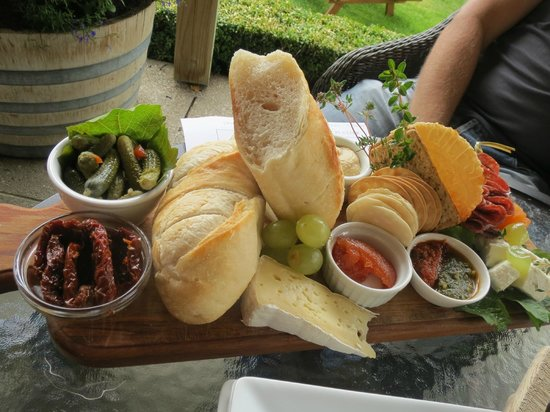 Gibbston Valley Cheese: Our platter