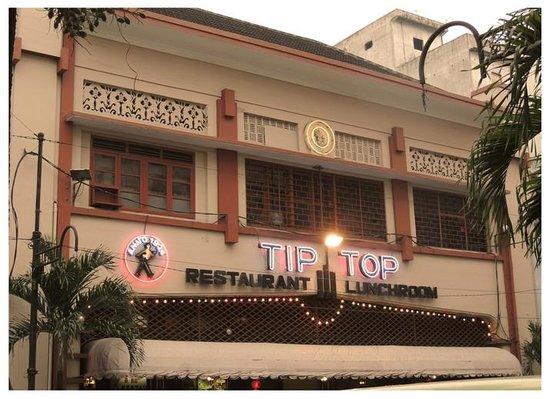 Tip Top Restaurant: front
