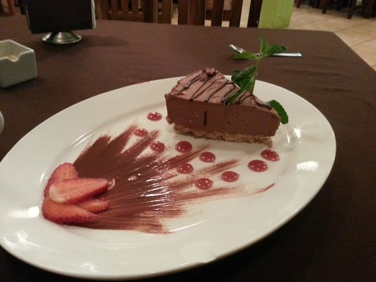 Bossa Nova: Coffee Chocolate Cheesecake