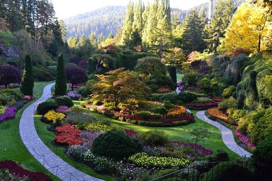Butchart Gardens : Visão maravilhosa