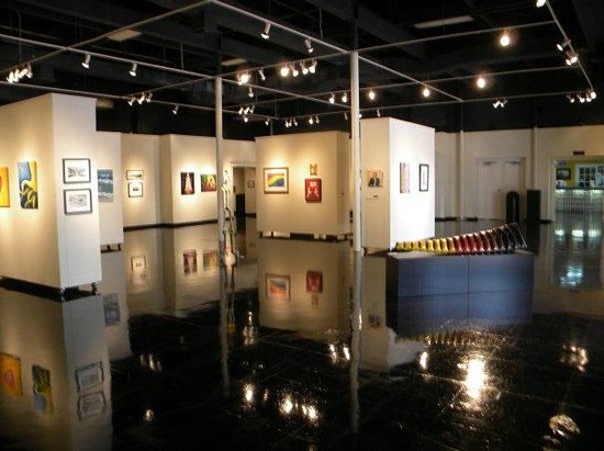 Art for sale in gallery at The Art Center of Corpus Christi