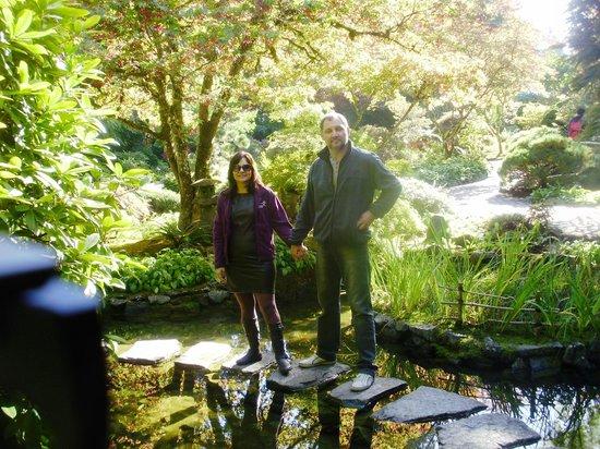 Butchart Gardens: jardim japonês