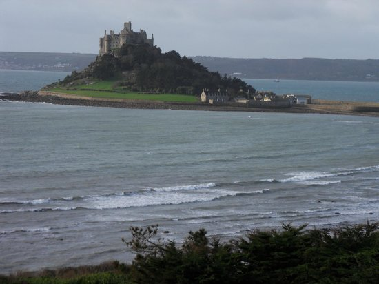 Mount Haven Hotel & Restaurant: View of St Michael's mount from room