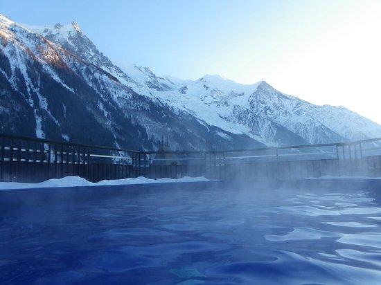Park Hotel Suisse & Spa: Vue de la piscine
