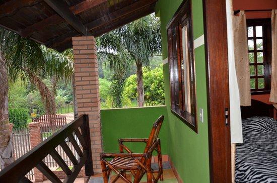 Pousada Do Alemao: Lovely corner room! Birds singing all morning. Lovely view
