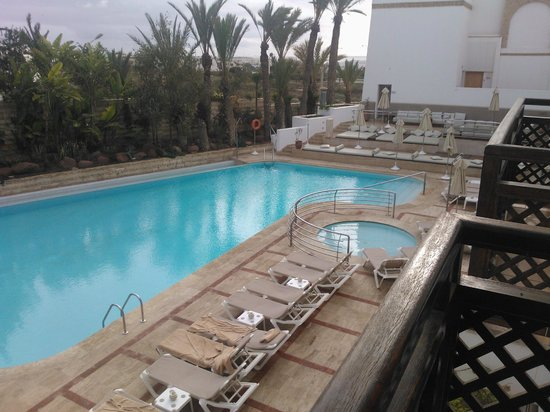 Hotel Timoulay & Spa Agadir : View from room 5