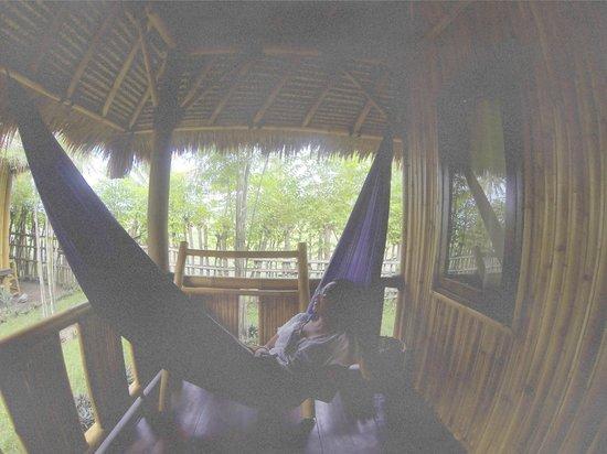 Rinjani Beach eco resort : the hammock that i miss so much