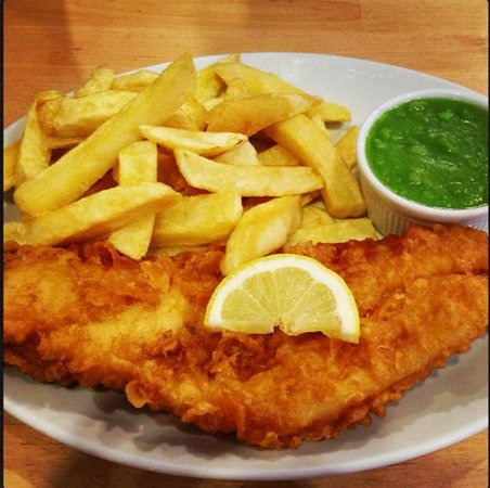 The Almighty Cod: Lovely Haddock & Chips