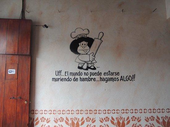 Panaderia y Cafe Santa Clara: Entrance