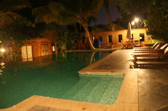 Raman Cottages: Piscina