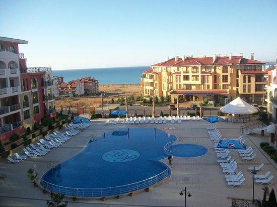 Saint George Palace Hotel: Вид с балкона