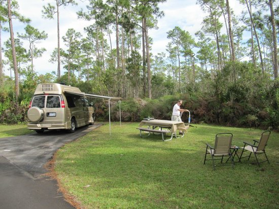 Long Pine Key Campground: Site #89