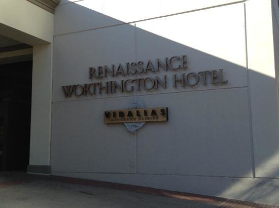 The Worthington Renaissance Fort Worth Hotel: welcome