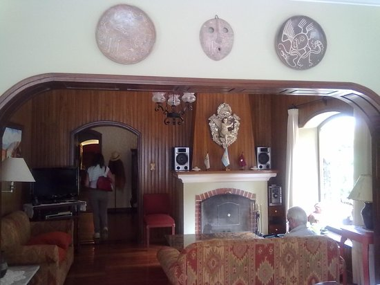 Hotel La Candela: Salon de Lectura