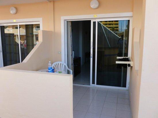 Hotel Bahia Flamingo : Unsere terasse