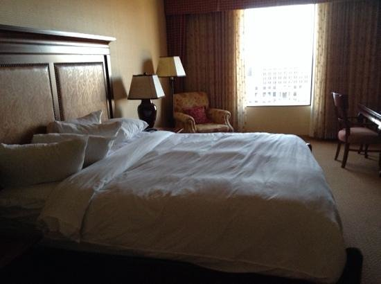 The Worthington Renaissance Fort Worth Hotel: Room with a view, 7th floor