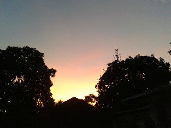 Tabonina Guesthouse: Hermosos atardeceres