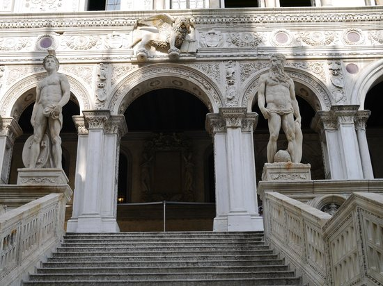 Doges' Palace: лестница Гигантов