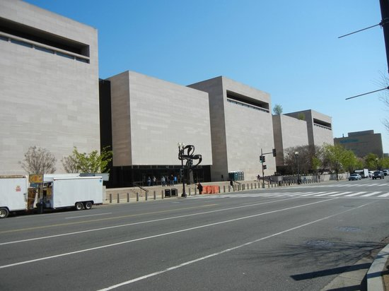 National Air and Space Museum : Air & Space Museum no Mall em DC