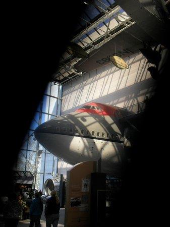 Museo Nacional del Aire y el Espacio: Air & Space Museum no Mall em DC