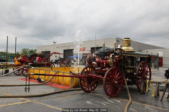 Fire Museum of Maryland: Steam fire engine shows the first weekend in May, Motorized shows in September every year