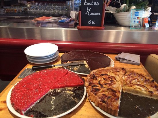 LE RIVA cafe : Tarte du jour!!!!