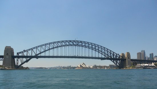 Sydney Ferries : View from the Darling Harbour ferry