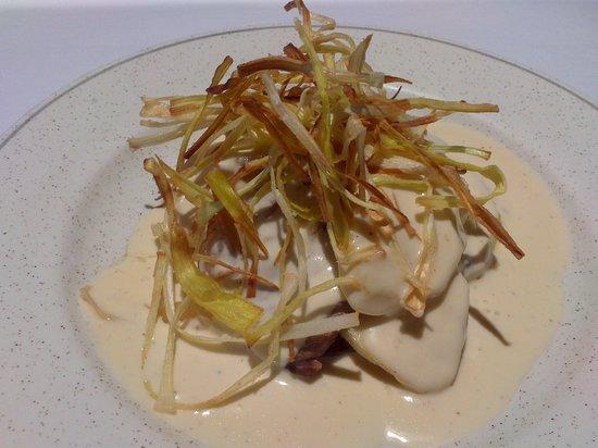 Restaurant Pizzeria Tonetto: Milfulls de vedella amb salsa de formatge