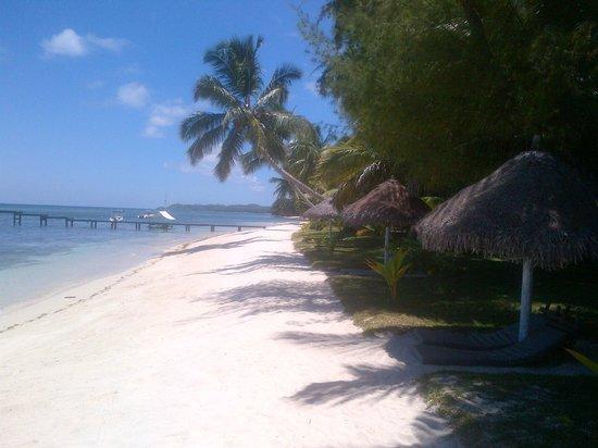 Princesse Bora Lodge & Spa : Plage de rêve