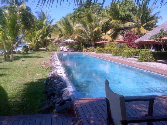 Princesse Bora Lodge & Spa : Piscine