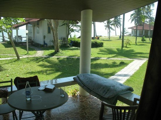 Malai Asia Resort: View from deck of Bungalow