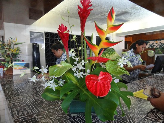 Kona Seaside Hotel: Receptionen