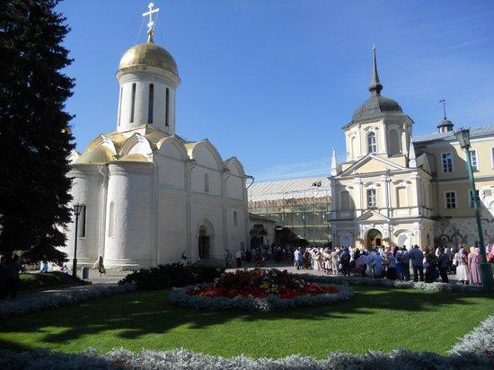 Сергиев Посад, Россия: interno del complesso fortificato