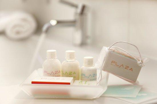 Hotel Plaza: Toilettries