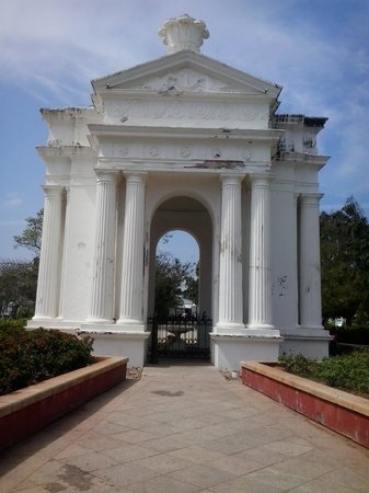 Bharati Government Park : Aayi mandapam